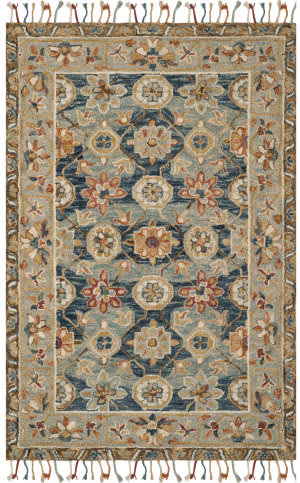 Safavieh Aspen Apn110a Grey - Navy Area Rug