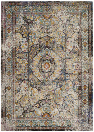 Safavieh Aria Ara199b Blue - Multi Area Rug