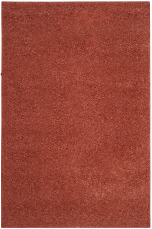Safavieh Arizona Shag Asg820f Terracotta Area Rug