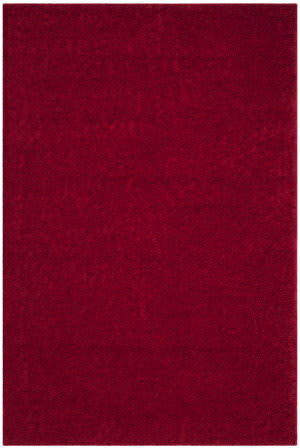 Safavieh Arizona Shag Asg820h Red Area Rug