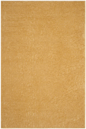 Safavieh Arizona Shag Asg820m Gold Area Rug