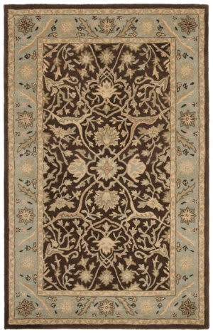 Safavieh Antiquities AT14F Brown - Green Area Rug