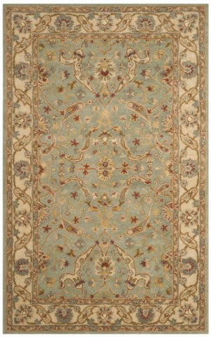 Safavieh Antiquities AT311B Teal - Beige Area Rug