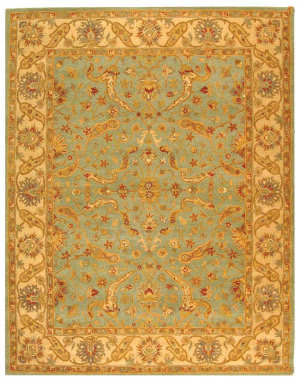 Safavieh Antiquities AT311B Teal / Beige Area Rug