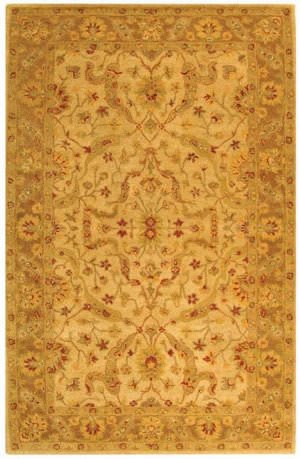 Safavieh Antiquities AT311C Ivory / Brown Area Rug
