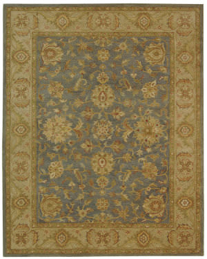 Safavieh Antiquities AT312A Blue / Beige Area Rug