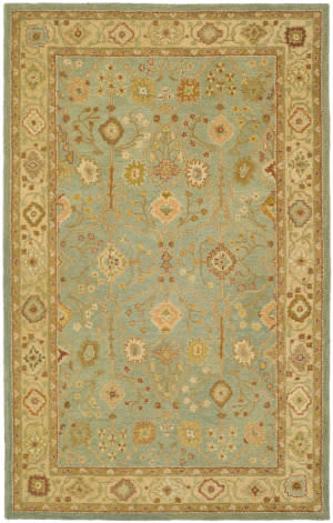 Safavieh Antiquity At317a Teal - Beige Area Rug