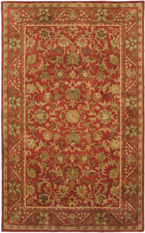 Safavieh Antiquities AT52E Red / Red Area Rug