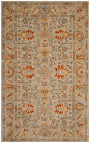 Safavieh Antiquity At63a Beige - Multi Area Rug