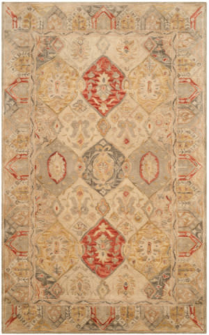 Safavieh Antiquity At830a Beige - Multi Area Rug