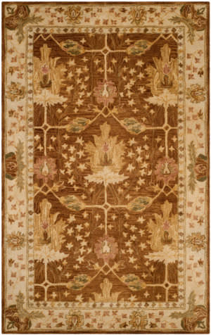Safavieh Antiquity At840b Brown - Beige Area Rug