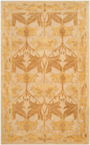 Safavieh Antiquity At841b Beige - Gold Area Rug