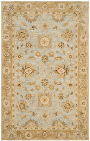 Safavieh Antiquity At856b Light Blue - Sage Area Rug
