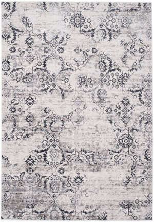 Safavieh Artifact Atf237a Charcoal - Cream Area Rug
