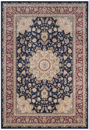Safavieh Atlas Atl668b Navy - Red Area Rug