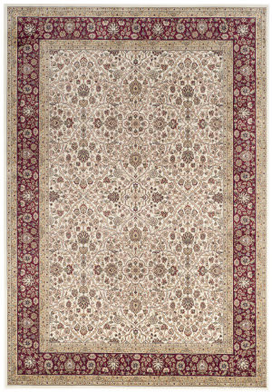 Safavieh Atlas Atl670r Ivory - Red Area Rug