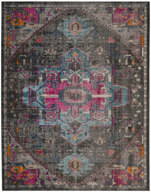 Safavieh Artisan Atn332j Anthracite - Light Grey Area Rug