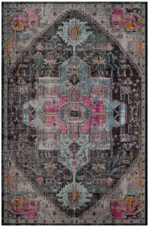 Safavieh Artisan Atn332l Black - Light Grey Area Rug