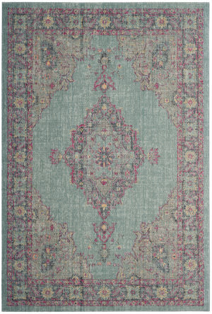 Safavieh Artisan Atn505a Light Blue - Navy Area Rug
