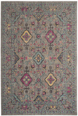 Safavieh Artisan Atn513g Light Grey - Light Blue Area Rug