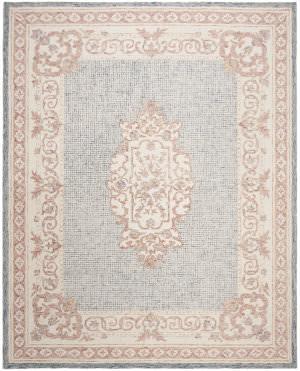 Safavieh Aubusson Aub106m Blue - Ivory Area Rug
