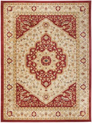 Safavieh Austin AUS1580-1140 Creme / Red Area Rug