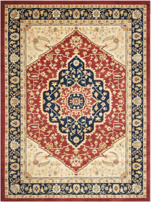 Safavieh Austin AUS1580-4070 Red / Navy Area Rug