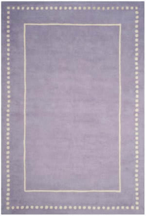 Safavieh Bella Bel151c Lavender - Ivory Area Rug