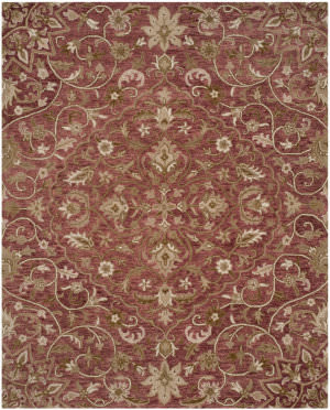 Safavieh Bella Bel673b Rose - Taupe Area Rug