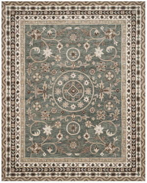 Safavieh Bella Bel674a Grey - Taupe Area Rug