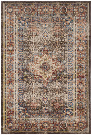 Safavieh Bijar Bij652d Brown - Rust Area Rug