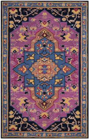 Safavieh Bellagio Blg506a Pink - Multi Area Rug