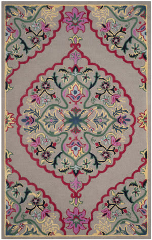 Safavieh Bellagio Blg605d Dark Grey - Multi Area Rug
