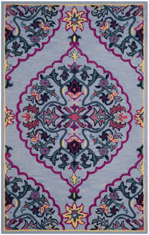Safavieh Bellagio Blg605g Blue - Multi Area Rug