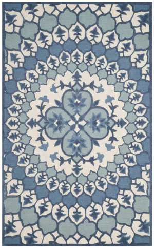 Safavieh Bellagio Blg610g Ivory - Blue Area Rug