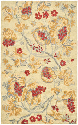 Safavieh Blossom Blm922a Beige / Multi Area Rug