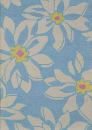 Safavieh Blossom BLM924A Light Blue / Ivory Area Rug