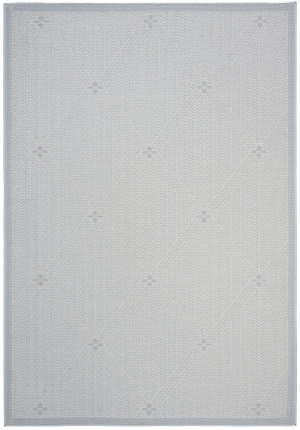 Safavieh Bermuda Bmu811m Light Blue - Ivory Area Rug