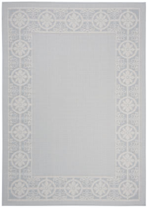 Safavieh Bermuda Bmu815m Light Blue - Ivory Area Rug