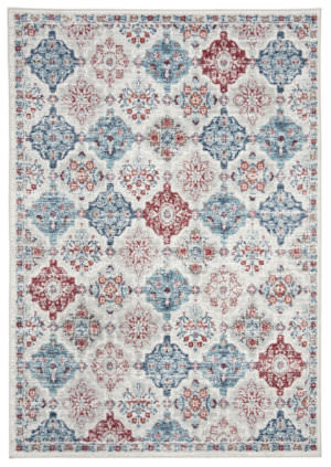 Safavieh Brentwood Bnt815a Cream - Blue Area Rug