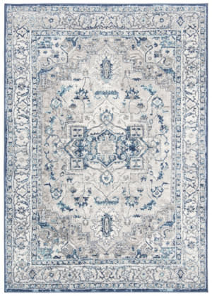 Safavieh Brentwood Bnt851g Light Grey - Blue Area Rug