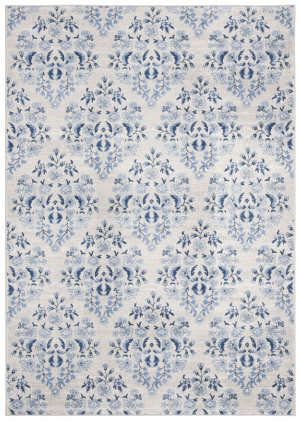 Safavieh Brentwood Bnt856d Cream - Blue Area Rug