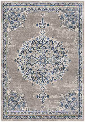 Safavieh Brentwood Bnt867g Light Grey - Blue Area Rug