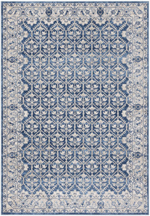 Safavieh Brentwood Bnt869m Navy - Light Grey Area Rug