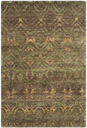 Safavieh Bohemian Boh623a Green - Brown Area Rug