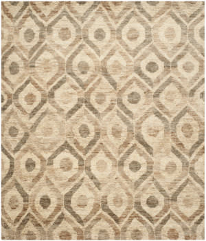 Safavieh Bohemian Boh633b Bleach / Brown Area Rug
