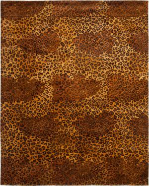 Safavieh Bergama BRG193A Gold / Black Area Rug