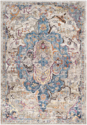 Safavieh Bristol Btl350d Blue - Light Grey Area Rug