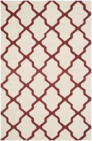 Safavieh Cambridge Cam121i Ivory / Rust Area Rug