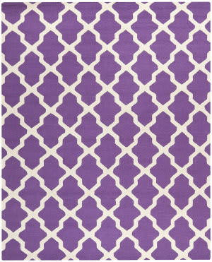 Safavieh Cambridge CAM121K Purple / Ivory Area Rug